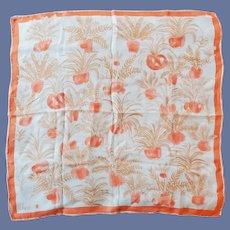 1970s Vera Neumann Scarf Silk Blend MIJ