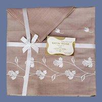 Tea Cloth and Napkins Party Set 1960s