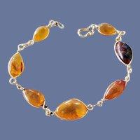 Genuine Baltic Amber Bracelet Extra Small