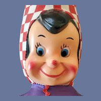 Purina Advertising Doll Checkerboard Clown 1940s
