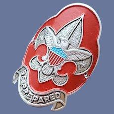 BSA Boy Scouts of America Walking Hiking Stick Medallion