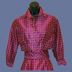 Silk Blend Suit Bolero Jacket Sassy Sash X-Small