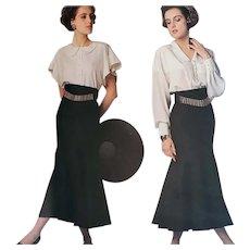 Vintage Sewing Pattern VOGUE Paris Original Lagerfeld