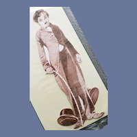 Charlie Chaplin Paper Doll by Shackman 1997