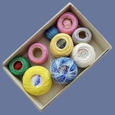 Vintage Cotton Tatting Thread 1940s-1960s