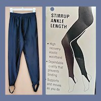 1980s Stirrup Pants NOS Unworn With Tags Sm-Med