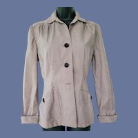 1940s Fitted Jacket Great Details Size Small - Medium