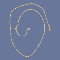 Gorgeous 14k Yellow Gold Necklace 4.9 Grams
