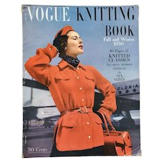 Vogue Knitting Book 1950 Full Instructions 80 Pages