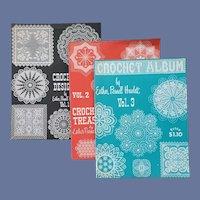 3 Crochet Books Esther Parnell Hewlett HTF