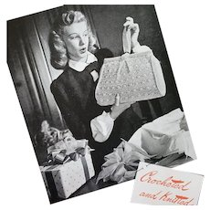 Crocheted and Knitted Gifts Pattern Book 1945