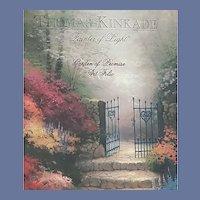 Thomas Kinkade Folio Print Garden of Promise MIP