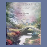 Folio Art Print Thomas Kinkade Brookside Hideaway MIP