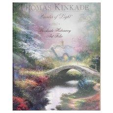 Folio Art Print Thomas Kinkade Brookside Hideaway MIP