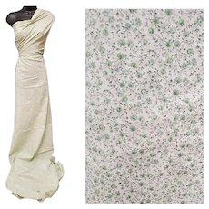 Vintage Cotton Sewing Fabric Tiny Print 4 Plus Yards