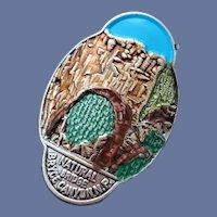 Hike America Medallion Natural Bridge Bryce Canyon