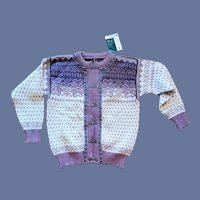 Dale of Norway Norwegian Wool Sweater Women's XL Bust 42