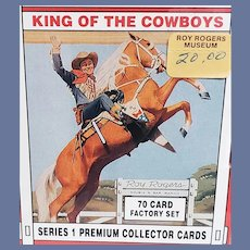 ROY ROGERS Series 1 Trading Cards Sealed 70 Cards