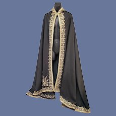 Costume Cape Wizard King or Cosplay Hooded Cape or Robe