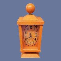 Vintage Mod Westclox 1960s Kitchy Clock Works Great