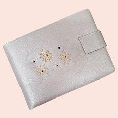 Women's Vintage Wallet Leather with Stud Work