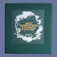 Bev Doolittle Print Sacred Circle Walk Softly Limited Edition Numbered