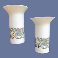 Modernist Rosenthal Germany Candle Holders Mid Century Modern