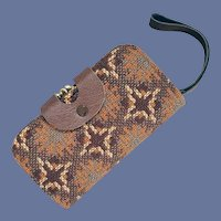 1960s Tapestry Purse Billfold Wallet Never Used