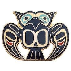 Haida Native American Pin David Audette Alaska