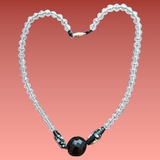 Crystal Bead Necklace Wedding Cake Focus Beads