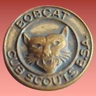 Boy Scout Pin / Badge Bobcat Cub Scouts BSA