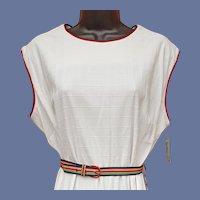 1970s Sleeveless Dress Unworn Large - Extra Large