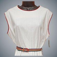 1970s Sleeveless Dress Unworn with Tags Large - Extra Large