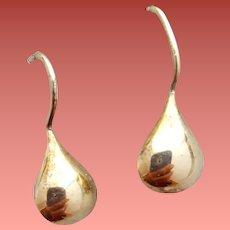 Tear Drop Pierced Earrings 525 / 14k Gold