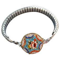 Unique Mosaic Bracelet on a Watch Band