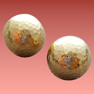 Gorgeous 14 Kt Yellow Gold Domed Earrings 6.2 Grams