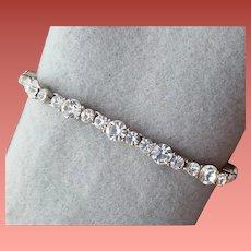 Ralph Lauren Rhinestone Bracelet Flashing Stones
