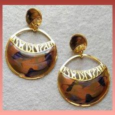 1980s Pierced Earrings Versatile Vintage VaVoom Berebi