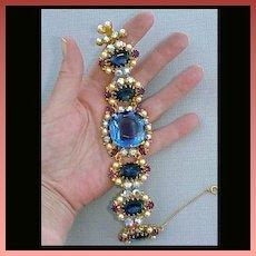 Bracelet & Earrings Original by Robert Matching Ultimate Christmas Gift!