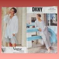 Vogue 2703 Donna Karan New York Sewing Pattern Sizes 6-8-10