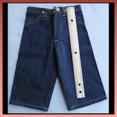 Vintage 1940s Salesman's Sample Big Mac Denim Pants 13 Inch Mint Rare