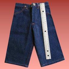 Vintage 1940s Salesman's Sample Big Mac Denim Pants 13 Inch Mint Rare
