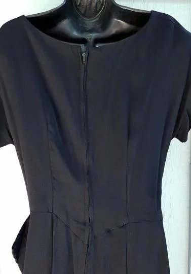 Vintage Ceil Chapman Rayon Cocktail Dress Size Medium M