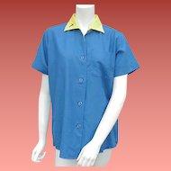 Vintage Bowling Shirt King Louie Extra Large XL Unworn