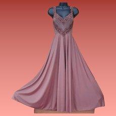 Olga Bodysilk Nightgown Size Small Beautiful Browns