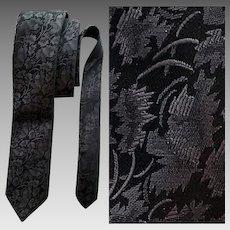 Men's Vintage Necktie Bellini Italy Narrow Italian Tie Mint