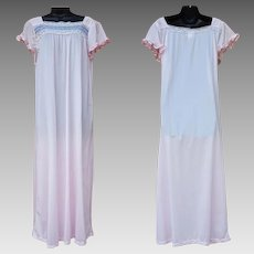 Modesty Nightgown with Sleeves Ankle Length Size Medium Bargain of the Month