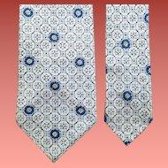 Men's 1960s Narrow Necktie Spring Summer Mid Century Modern