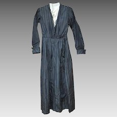 Antique Silk Mourning Dress 1910 Project Pattern Display