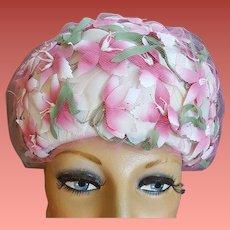 1960s Vintage Hat Pinks for Summer Fashion